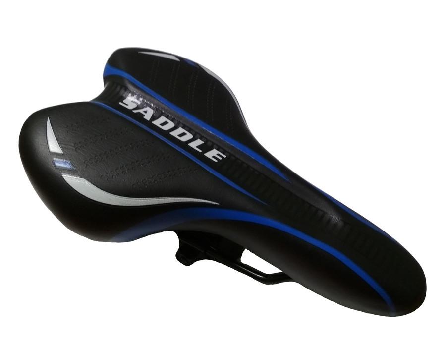 Седло DN-323 Saddle черно-синее