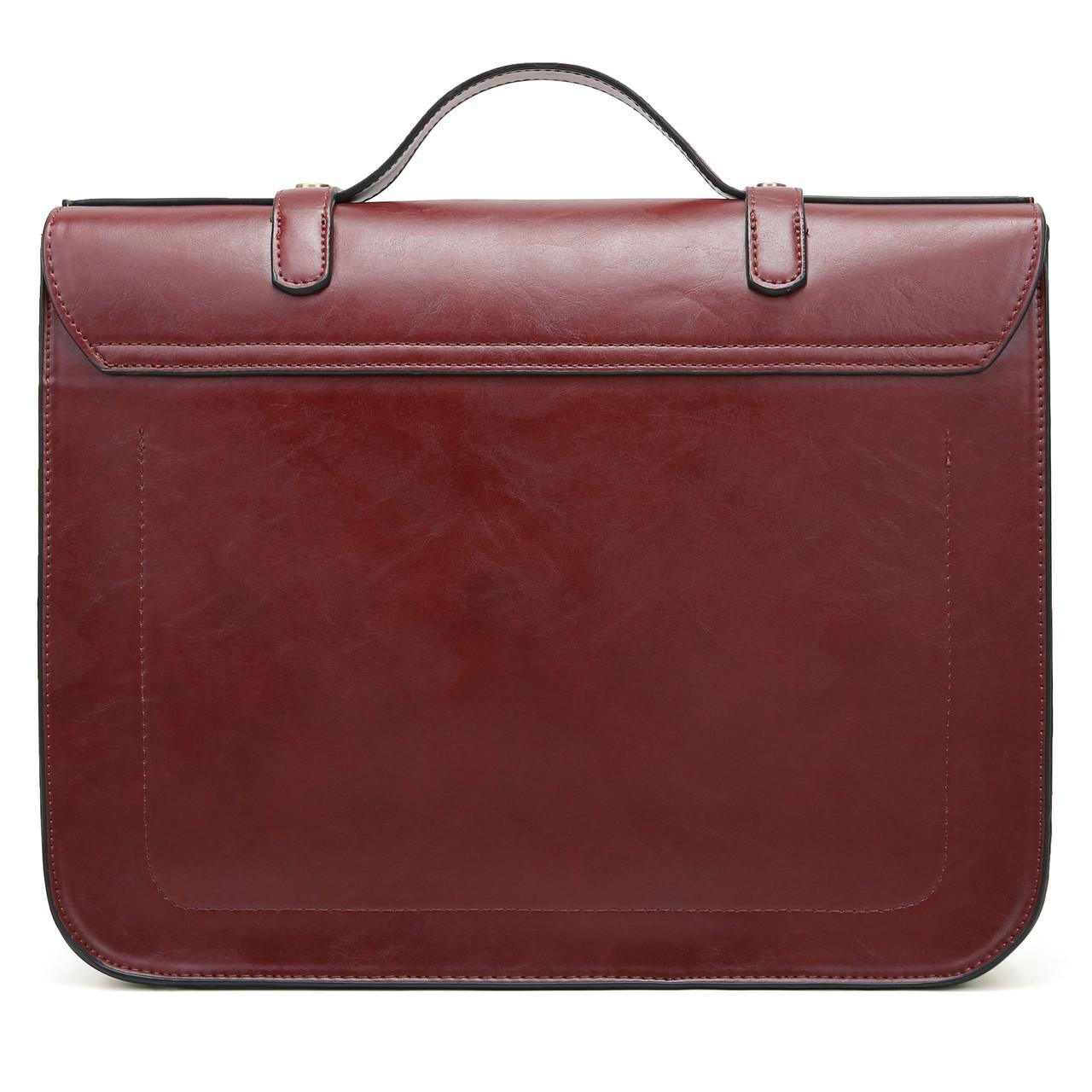 ea43ecf23504 Женская сумка-портфель Ecosusi вишневая (ES0120954A021): продажа ...