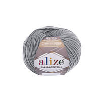 Alize Lanacoton серый № 21