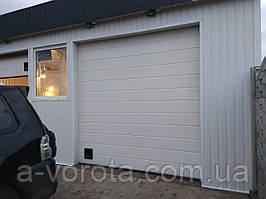Промышленные секционные ворота Doorhan ISD01 (3 000×3 000 мм)