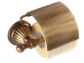 Держатель для туалетной бумаги KUGU Hestia antique 911A, фото 3
