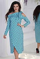 Женское стильное длинное платье  ВШ1079