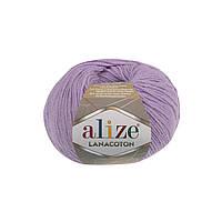 Alize Lanacoton лиловый № 166