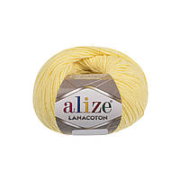 Alize Lanacoton лимонный № 187