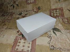 Коробка для 6-ти кексов / 250х170х90 мм / Эконом-Белый / окно-обычн