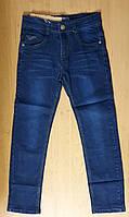 Темно-Синие классические джинсы для мальчика, р.134