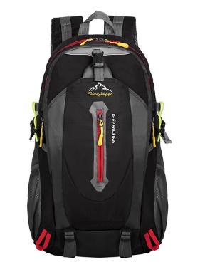 Городской спортивный рюкзак Baishigi на 27 л, черный