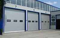 Промышленные секционные ворота alutech protrend4000х3080 мм.