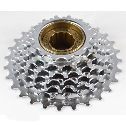 Трещотка велосипедная DN FW-440-7 Хром 7 spd. (14-28Т)