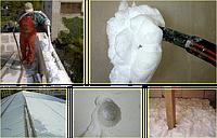 Утепление дома пеноизолом