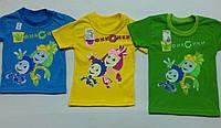 Детские футболки фиксики1