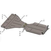 Защита картера двигателя Kolchuga Subaru Outback с 2009-2014 металлическая Кольчуга