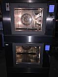 Печь конвекционная профессиональная двойная (5+5 противней)  Wiesheu Euromat B4 E2 IS 600 (Германия) , фото 2