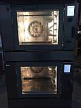 Печь конвекционная профессиональная двойная (5+5 противней)  Wiesheu Euromat B4 E2 IS 600 (Германия) , фото 7