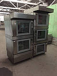 Печь конвекционная профессиональная двойная (5+5 противней)  Wiesheu Euromat B4 E2 IS 600 (Германия) , фото 8