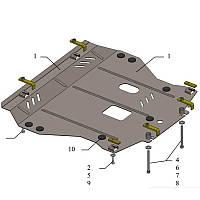Защита картера двигателя Kolchuga Nissan Juke с 2010- металлическая Кольчуга
