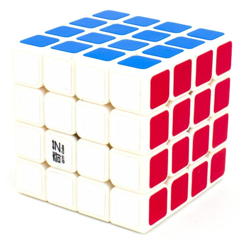 Кубик QiYi MoFangGe 4x4x4 QiYuan, білий, в коробці