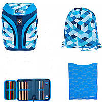 Рюкзак Herlitz Motion Plus Blue Cubes 50020393