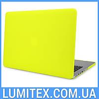 "Чехол для Apple MacBook Air 13"" - макбук эйр (салатовый)"