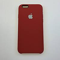 Чехол для iPhone 6/6s, RED, силикон, copy original