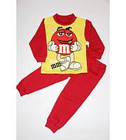 Пижама детская Эмемдемс, красивая и удобная, яркие цвета