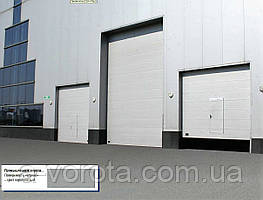 Промышленные секционные ворота doorhan isd01 3500х3000 мм