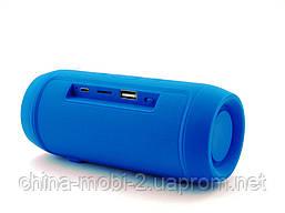 JBL Charge 2 mini 3W J006B копия, колонка с FM Bluetooth MP3, синяя, фото 3