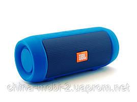JBL Charge 2 mini 3W J006B копия, колонка с FM Bluetooth MP3, синяя, фото 2
