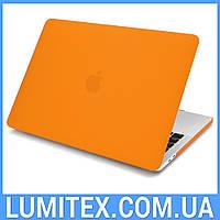 """Чехол для Apple MacBook Air 13"""" - макбук эйр (оранжевый)"""