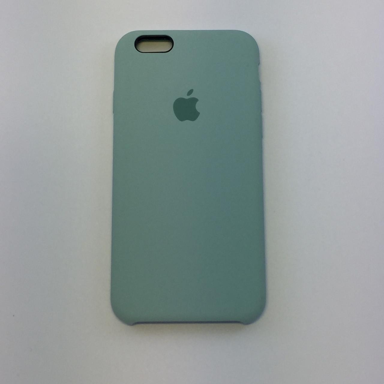 Силиконовый чехол для iPhone 6/6s, - «мята» - copy original