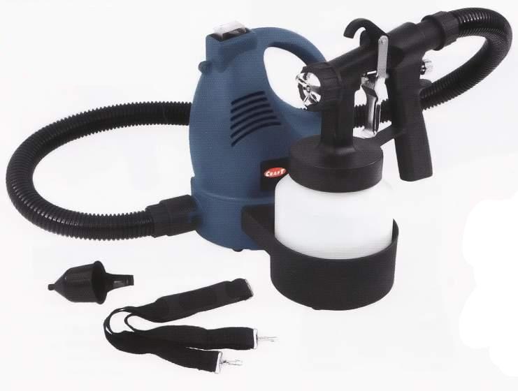 Краскопульт электрический Craft CSP-750