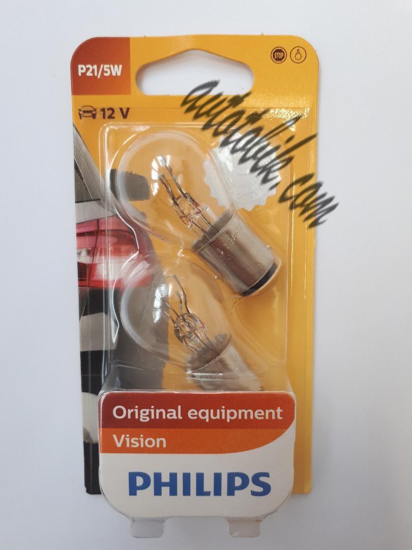 Автомобильная лампочка Philips Vision P21/5W 12V 21/5W (1шт)