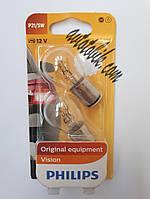 Автомобильная лампочка Philips Vision P21/5W 12V 21/5W (1шт), фото 1
