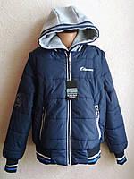 Куртка-бомпер Отман трансформер для мальчика 9-14 лет, фото 1
