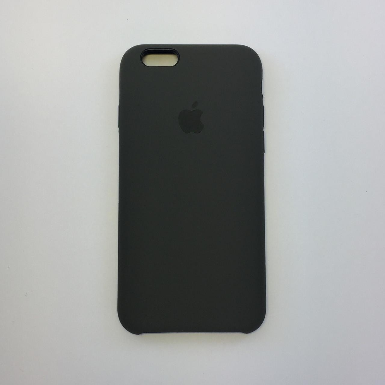 Силиконовый чехол для iPhone 6/6s, - «какао» - copy original