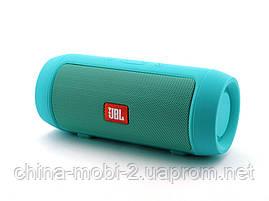 JBL Charge 2 mini 3W J006B копия, колонка с FM Bluetooth MP3, Teal мятная, фото 3