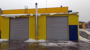 Рулонные-ролетные промышленные ворота