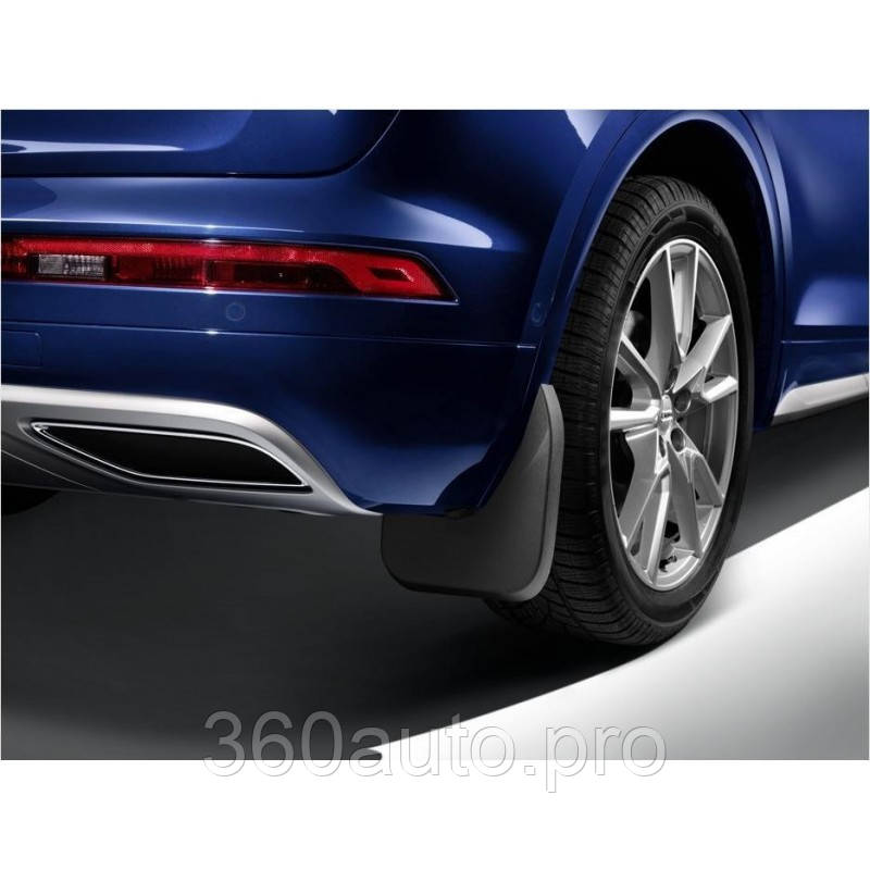 брызговики модельные для Audi Q8 2018 задние оригинальные цена 4