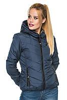 Короткая куртка с капюшоном 44-54р