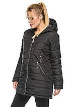 Зимняя удленная куртка 44-52р, фото 2