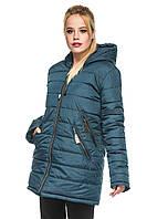 Зимняя куртка прямого фасона 44-52р