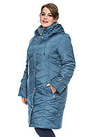 Классическая удлиненная куртка 50-62р
