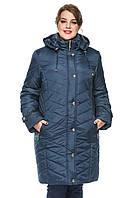 Зимняя длинная куртка 50-62р