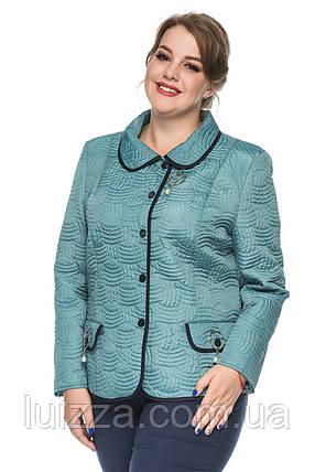 Демисезонный пиджак батальных размеров 50-60р, фото 2