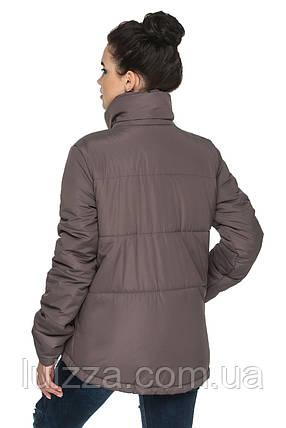 Стильная женская куртка 44-54р, фото 2