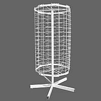 Металлическая настольная вертушка для продажи очков 90 мест от производителя