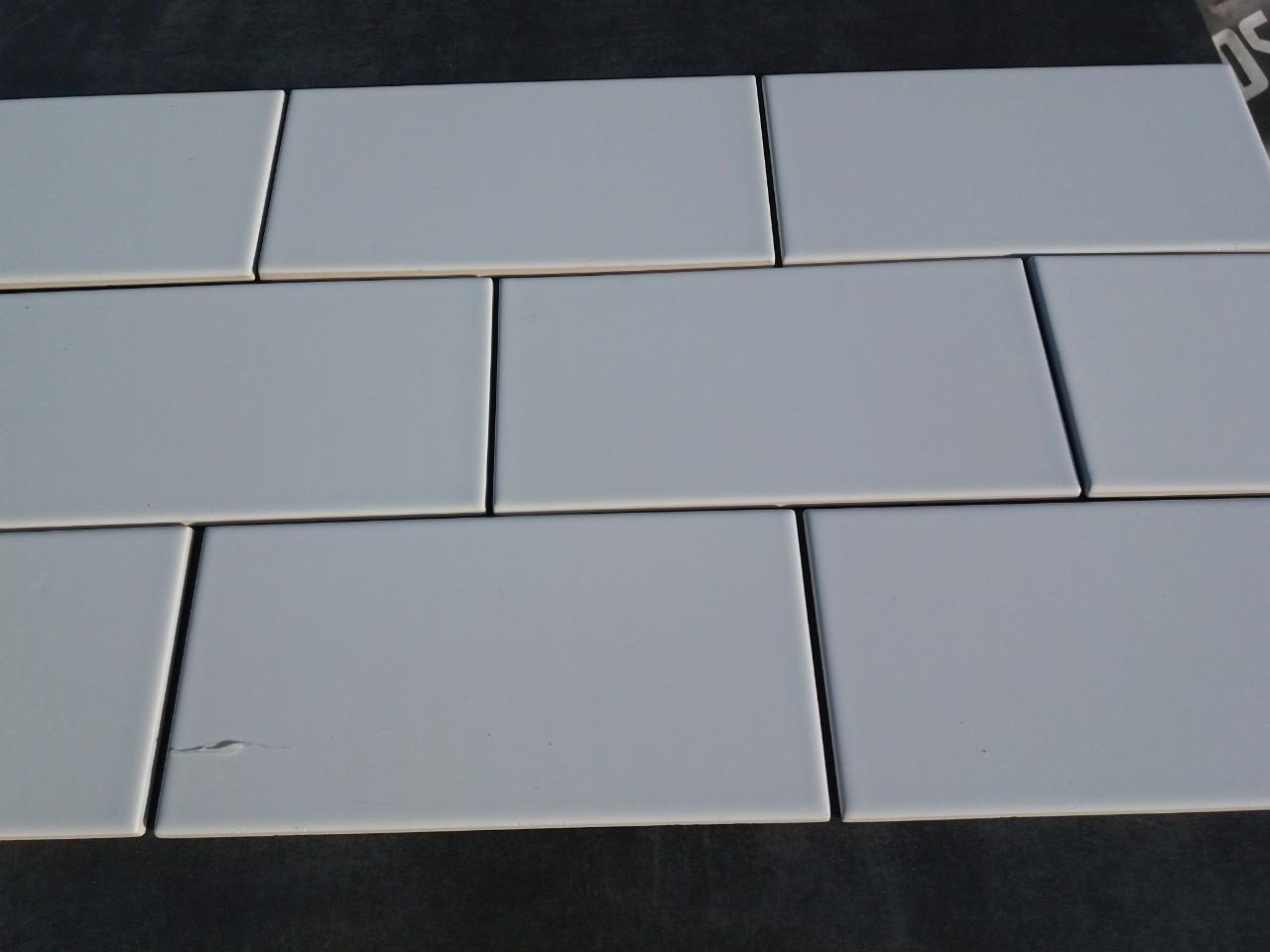 Плитка Subway W белая 100x200