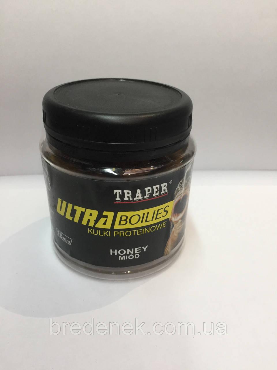 Бойлы Traper( TRAPER) в банке 100г  МЁД