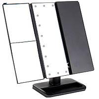 БЕЗ ВЫБОРА ЦВЕТА Зеркало для макияжа с подсветкой Led mirror ставни