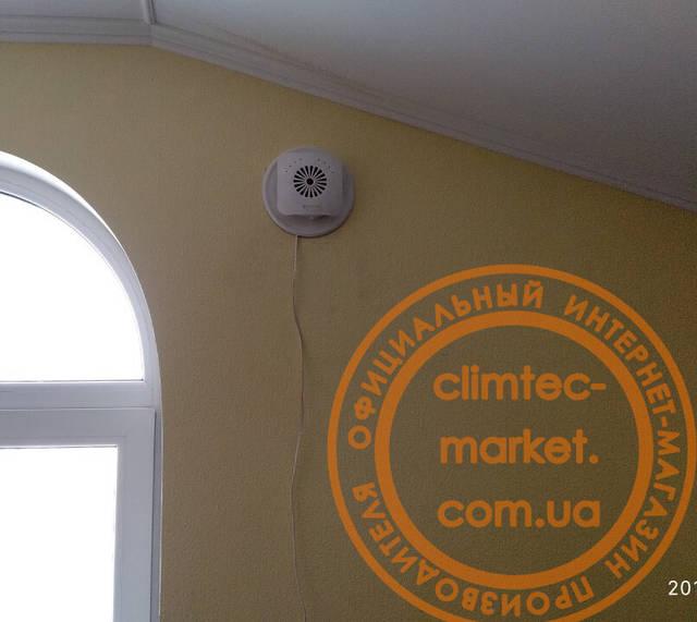 Вентиляция в двухэтажном коттедже -1